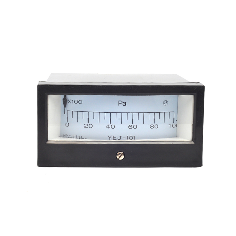 ФОТО YEJ-101 Square Diaphragm Pressure Gauge Film Box Pressure Gauge Square Pressure Gauge 0-10KPA Positive Pressure Meter