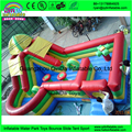 Kids game inflatable amusement park,inflatable fun city,inflatable jumping bouncer slide