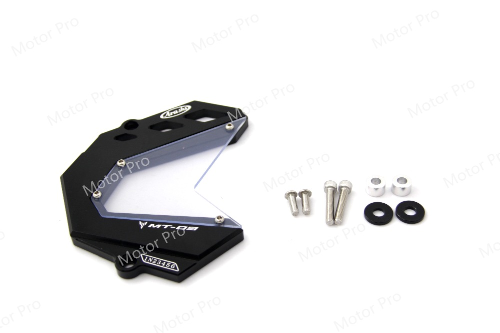 Chain Guard Cover FOR YAMAHA MT09 MT-09 2013 2014 2015 2016 2017 FZ09 FZ-09 Motorcycle accessories Front Sprocket cover cnc aluminum chain guards cover protector black silver for yamaha mt 09 2014 2015 mt 09 tracer 2015 new arrival