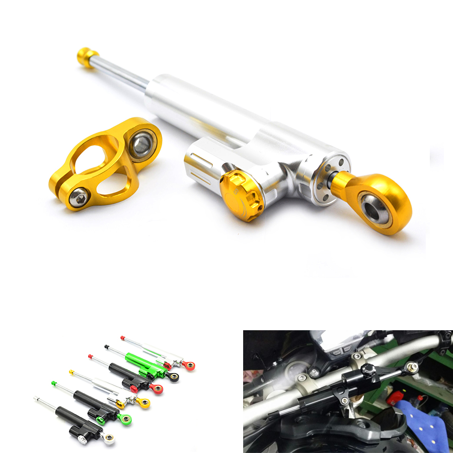 for moto CNC Damper Steering Stabilizer Linear Reversed Safety Control Over for motorcycle accessories yamaha r3 vespa moto helm феликс икономакис управляй своей жизнью с помощью нлп