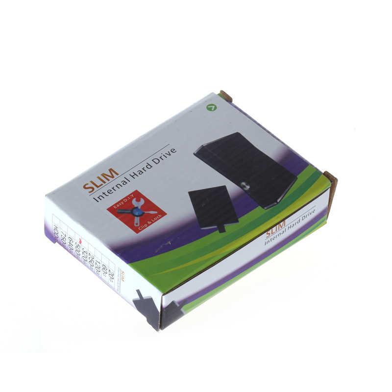 500 gb HDD Ổ Cứng Hard Disk Drive Cho Microsoft Xbox 360 s Mỏng Nội Bộ 320 gb 250 gb 60 gb 120 gb HDD Ổ Cứng Cho Xbox360 mỏng
