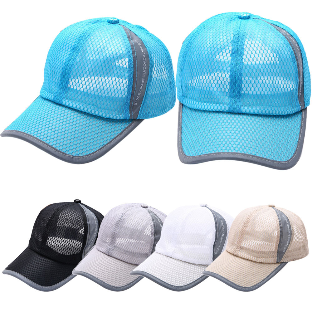 Womail   baseball     cap   Unisex Couple Fashion Summer Breathable Mesh   Baseball     Cap   Sport Hats Adjustable Hat 2019 dropship f21