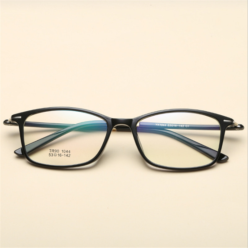 569b3c9d763 Full frame ultra light tr90 eyeglasses frame glasses frame box myopia  glasses male Women mirror mens eyewear prescription 044-in Eyewear Frames  from Apparel ...