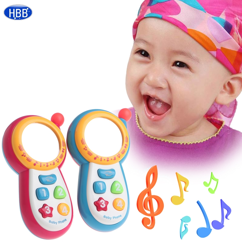 wuliujiagecuowu Baby Kids Learning Study Musical Sound Cell Phone Educational Mobile Toy Phone-TwFi image