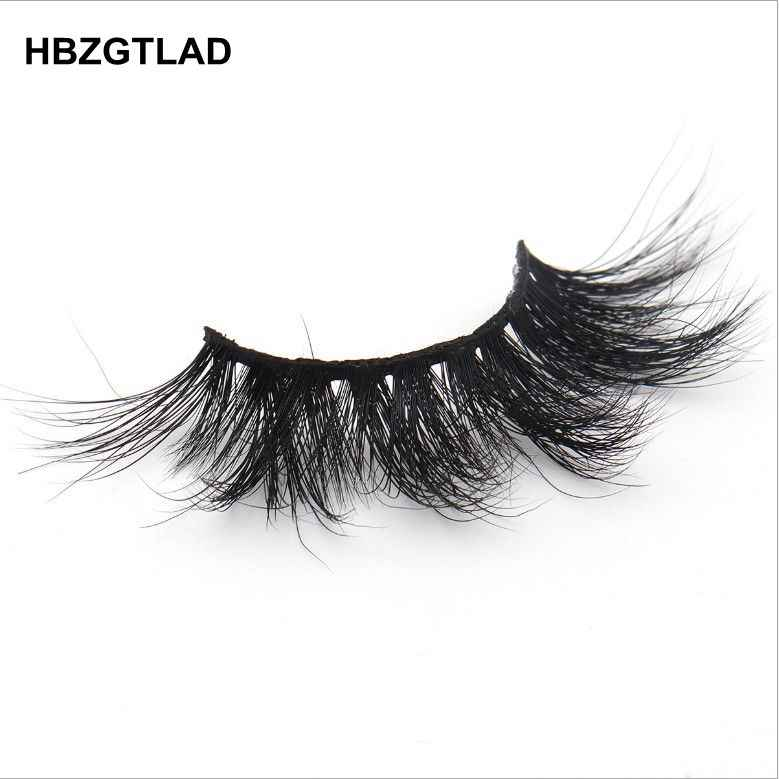 54d859a2bc8 ... HBZGTLAD 100% mink eyelashes extra length 25mm lashes 3D eyelashes Big  dramatic volumn eyelashes Crisscross ...