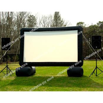 Darmowa wysyłka do drzwi gigantyczny nadmuchiwany ekran filmowy nadmuchiwany ekran projektora na zewnątrz nadmuchiwany ekran filmowy tanie i dobre opinie Oxford CN (pochodzenie) inflatable screen 6 lat Duży zewnętrzny pompowany rekreacyjny 120 inches
