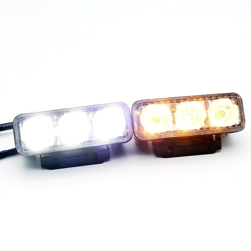 Yituancar 2Pcs / 9W 87MM LED DRL Gündüz işləyən İşıq DC12V - Avtomobil işıqları - Fotoqrafiya 5