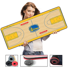 Basketball Mouse Pad Gamer TENZERO 80x30cm L Mat Gaming Computer Large Mousepad Rubber Locking Edge For PC Cs Go