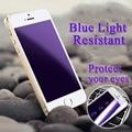 Resistente A La Luz azul de Cristal Templado de Cine Para el iphone 5 6 Protector de pantalla 6 S Protección de Cristal Para el iphone 6 Más Pantalla Protector