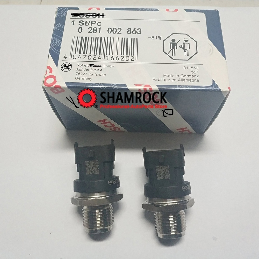 Fuel Rail Pressure Sensor Common Regulator OEM 0281002863 314014A400 for Hyyundai Accent AVEGA Kkia AGE BORREGO