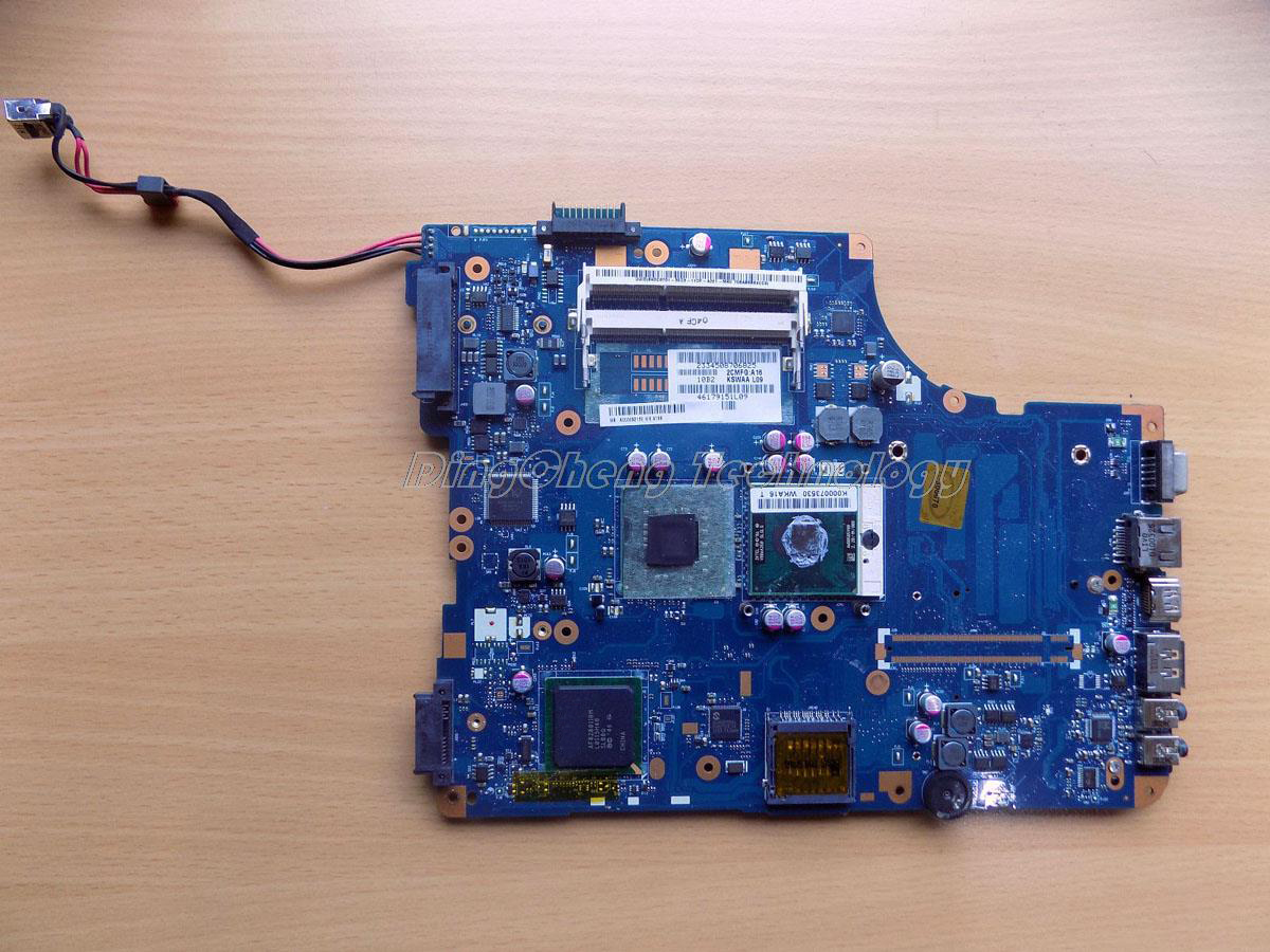 HOLYTIME laptop <font><b>Motherboard</b></font> For <font><b>Toshiba</b></font> <font><b>L500</b></font> KSWAA LA-4982P K000086440 DDR3 integrated graphics card 100% fully tested image