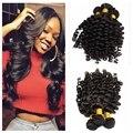 10A тетушка фунми волос 1 связки aliexpress великобритания/Нигерии Перуанской свободная волна романтики упругий кудри фунми волосы, человеческие волосы расширение