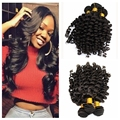 10A aunty funmi hair 1 bundles aliexpress uk/Nigeria Peruvian loose wave romance bouncy curls funmi hair human hair extension