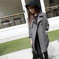 Оптовая 2016 новые женские зимние куртки и пальто плед зимняя куртка женщин пальто Черный jaqueta feminina casaco feminino