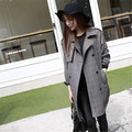 Wholesale 2016 new womens winter jackets and coats plaid winter jacket women coat Black jaqueta feminina casaco feminino