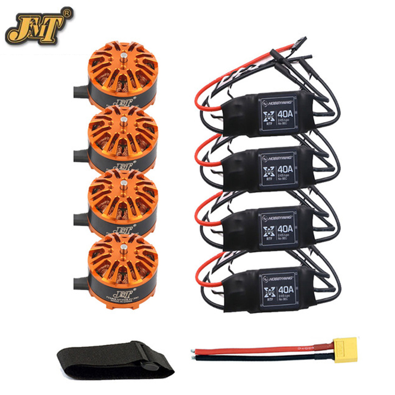 DIY Drone Kit Hexacopter Motor Combo 3508 380kv Motor Hobbywing XRotor 40A ESC XT60 Connector Fastening Tape for Quadcopter diy 8 axis aircraft drone motor combo 8pcs 3508 380kv motor 8pcs hobbywing xrotor 40a esc xt60 connector fastening tape