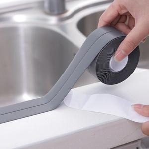 Waterproof Self Adhesive Tape Anti Moisture Kitchen Ceramic Stickers Home Decor PVC Bathroom Furniture Wall Corner Stickers