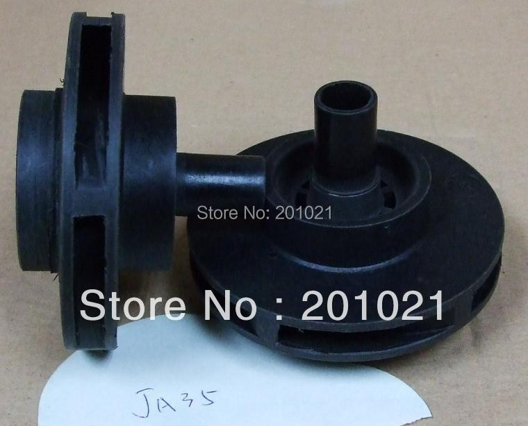 LX JA35/TDA35 Spa Pump Impeller Height: 62 mm Diameter: 82mm