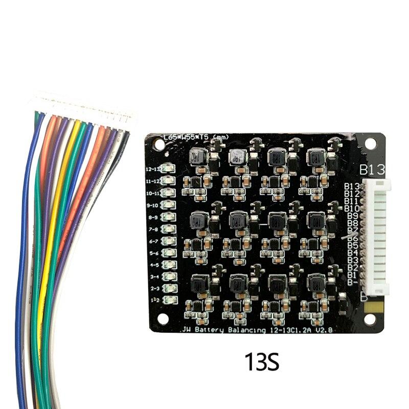 BMS 3S 4S 6S 7S 10S 12S 13S 16S 17S 1.2A balance Li-Ion Lifepo4 Lithium-Batterie Aktive Equalizer Balancer Energie Transfer Bord