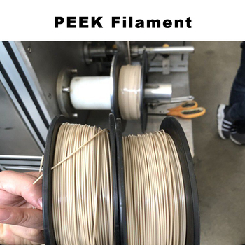 FLEXBED PEEK High Temp Filament 1.75 mm Extremely Strong, Heat Resistant, Chemical Resistant 3D Printing Filament 250g