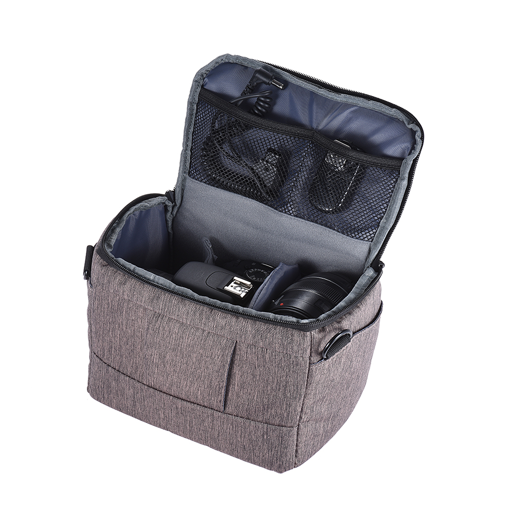 Andoer Dslr Camera Bag Case Photo W Shoulder Strap For Canon Leather Denim Kamera Mirrorless Dlsr Slr Fujifilm Sony Pls Contact Us Before You Leave Neutral Or Negative Feedback About Nikon