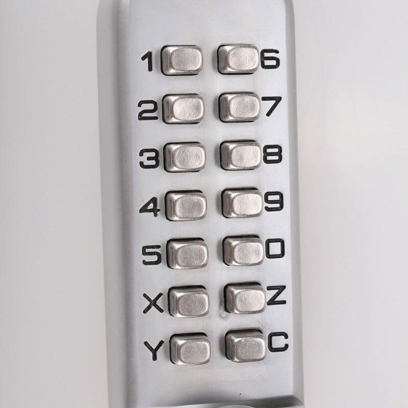 Baseball bat Digit Coded Combination Lock for Car Steering Wheel Anti theft Password combination steering wheel lock - 2