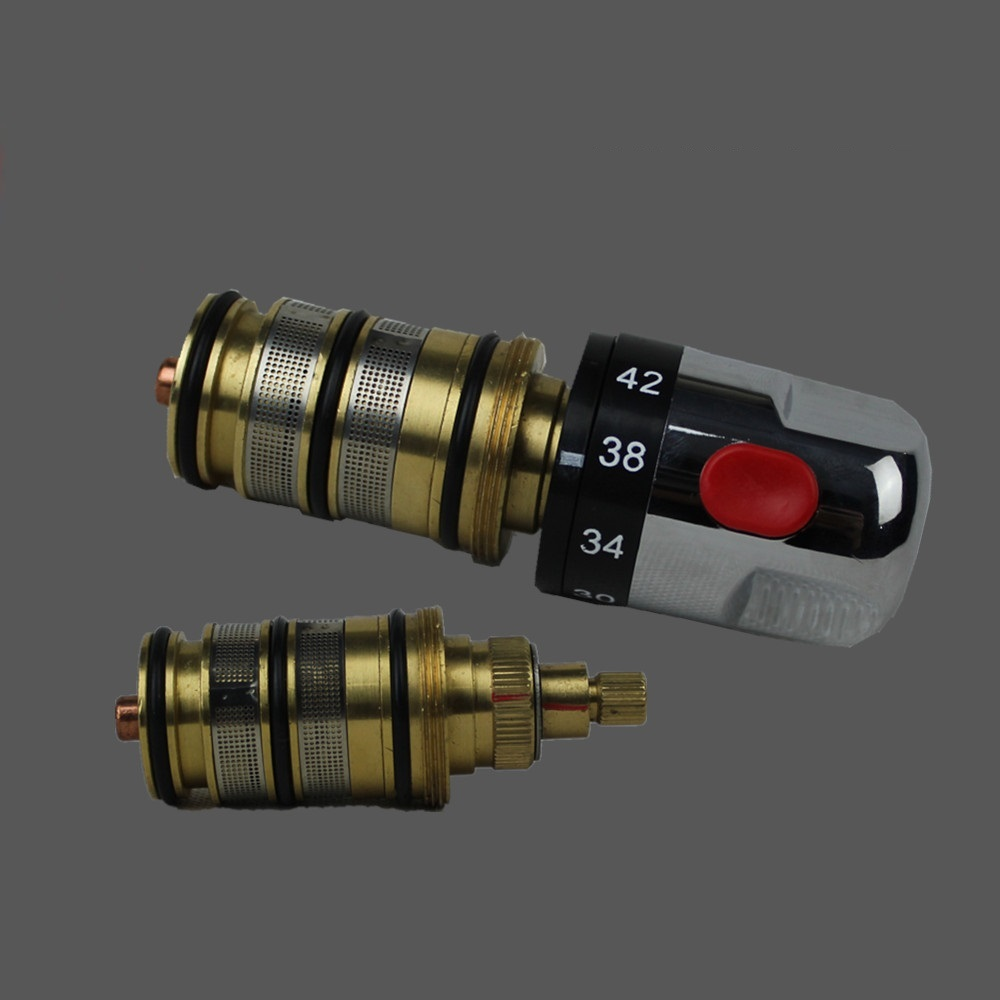 Thermostatic Valve Spool Copper Faucet Cartridge Bath: MTTUZK Brass Thermostatic Valve Thermostatic Mixing Valve