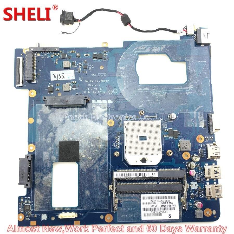 SHELI BA59-03399A BA59-03565A Laptop Motherboard Für Samsung NP365E5C NP355V5C QMLE4 LA-8864P Hauptplatine System Bord Arbeit Gute