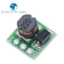 Tzt 0.9-5v a 5v DC-DC placa do conversor do impulso da tensão do módulo de potência do passo-acima 1.5v 1.8v 2.5v 3.3v 3v 3.7v 4.2v a 5v