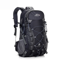 LOCAL LION Outdoor Waterproof Hiking Backpack 40L Women Men Camping Travel Bag Molle Trekking Climbing Bag