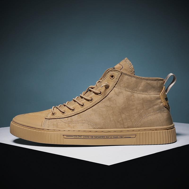 2019 mode hommes baskets chaussures plates parapluie tissu haute coupe toile chaussures hommes Espadrille Skateboard hommes chaussures décontractées C4
