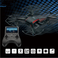mini 5.8G FPV Drone T901F 2.4G 4CH 6 Axis Gyro RC Quadcopter FPV Real time Headless Mode One Key Return Mode RTF with hd camera