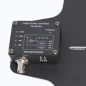 Image 3 - Leicozic antena direccional activa y divisor UA874, sistema de amplificador integrado de antena UHF, micrófono inalámbrico ua845
