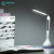 Dimmable Levou Lâmpada de Mesa dobrável 4 w Mesa de Luz com Alarme Calendário Temperatura Relógio Atmosfera Cores Mudando Luz do Livro