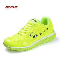 2017 ONKE Brand Woman Shoes Breathable Running Shoes Outdoor Walking Summer Shoes Popular High Quality Lace