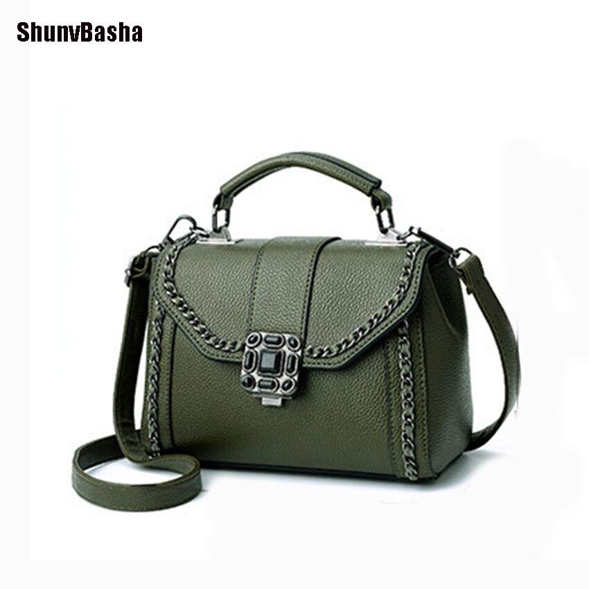 ShunvBasha Cuadrado De Lujo Bolsos Mujer Bolsos Diseñador de Las Mujeres Bolso d