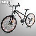 Высококачественный алюминиевый сплав горный велосипед 24 дюймов-велосипед 21 скоростной амортизатор для велосипеда снегохода двойной диско...