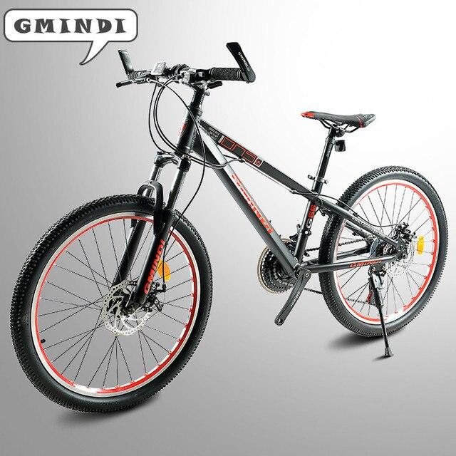 Высокое качество алюминиевый сплав горный велосипед 24 дюймов-велосипед 21 скорость амортизатор для велосипед снегоход двойной велосипед с дисковым тормозом