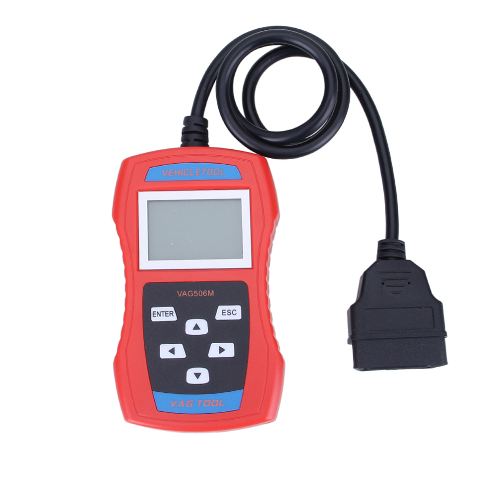 Vehicle Diagnostic Tool Engine Code Reader Automotive Shop Equipment Car Body Repair Tools Vag Scan Double K-Line VAG506M