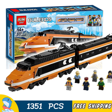 1351 pcs novo trem o criador da série horizon expresso 21007 presentes de diy kit modelo de construção blocos brinquedos compatíveis com lego
