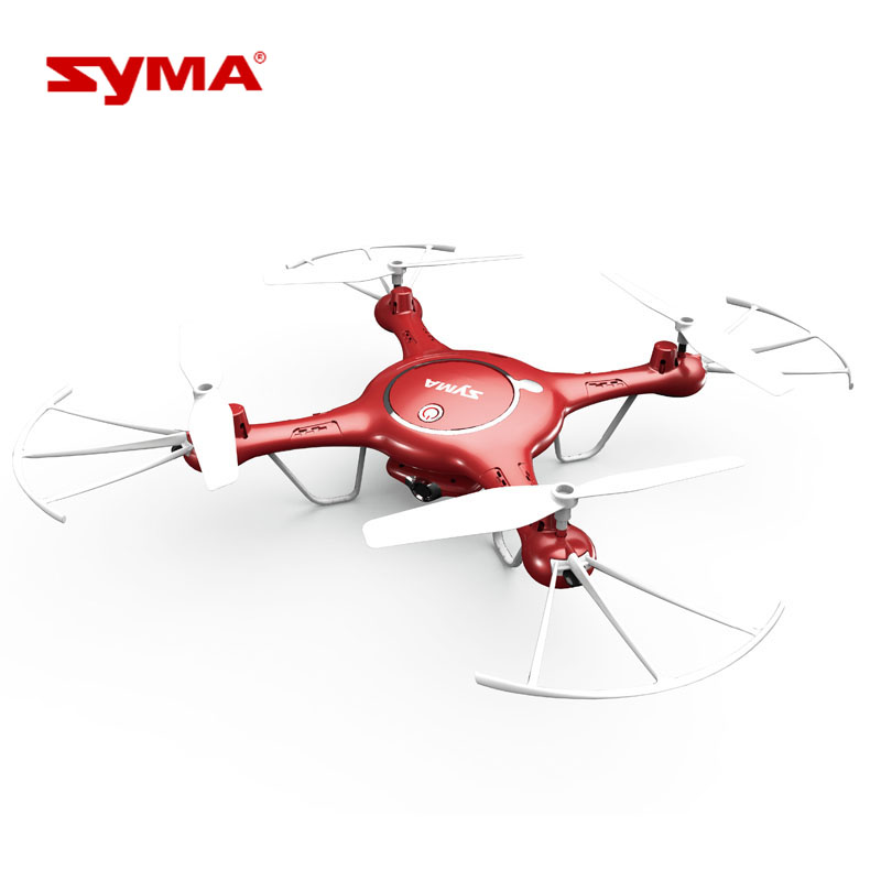 Syma X5UW RC Quadcopter Drone 2.4G 4 Channel 6-Axis Gyro With 0.72MP HD Camera Barometer Set Height Remote Control Helicopter new arrival 5 8g fpv hd camera 2 mega pixels top quality 6 axis gyro rc drone remote control rc helicopter quadcopter w606 5