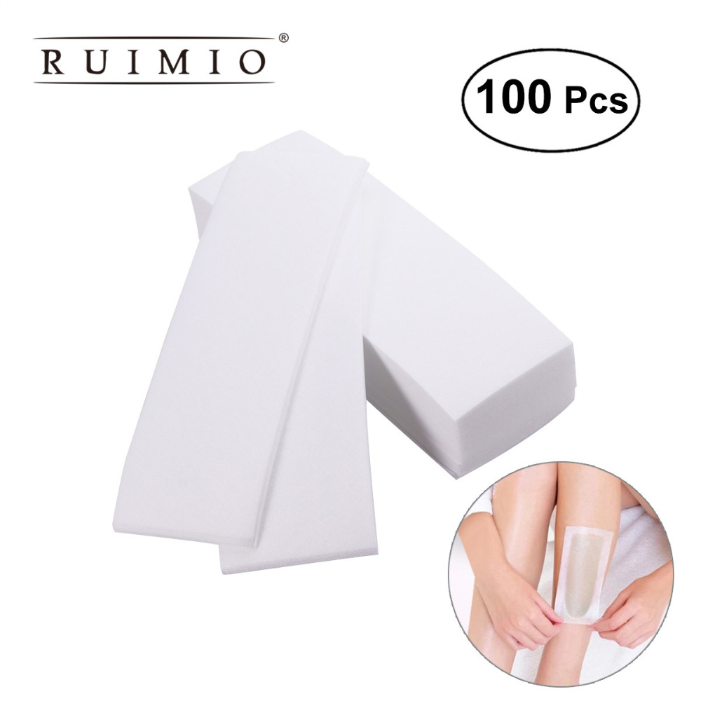 RUIMIO Women Beauty Shaving Hair Removal Depilatory Nonwoven Epilator Wax Strip Paper Roll Waxing Hair Removal Health Beauty
