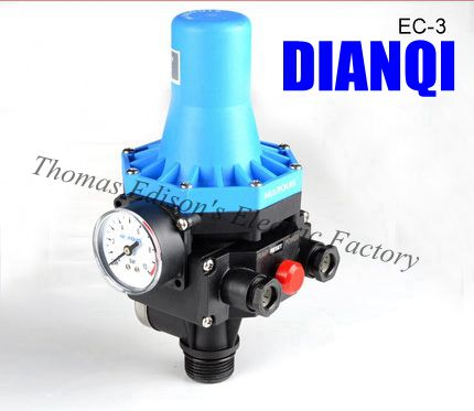 automatic Water pump pressure control, electronic switch for water pump on 1.5bar off 10bar time electric valve ac110v 230 3 4 bsp npt for garden irrigation drain water air pump water automatic control systems