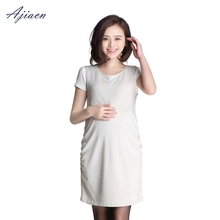 Recommend electromagnetic radiation protective pregnant women tank top Simple and elegant style EMF shielding silver fiber dress