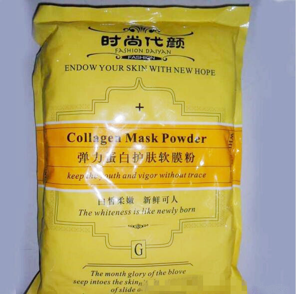 2bags 2000g Collagen Soft Mask Powder  Firming Moisturizing Face Anti Aging Agelss Products Free Shipping Hospital Equipment spa 80% pearl powder extract 500g nanopore acne speckle whitening moisturizing firming mask powder hospital equipment