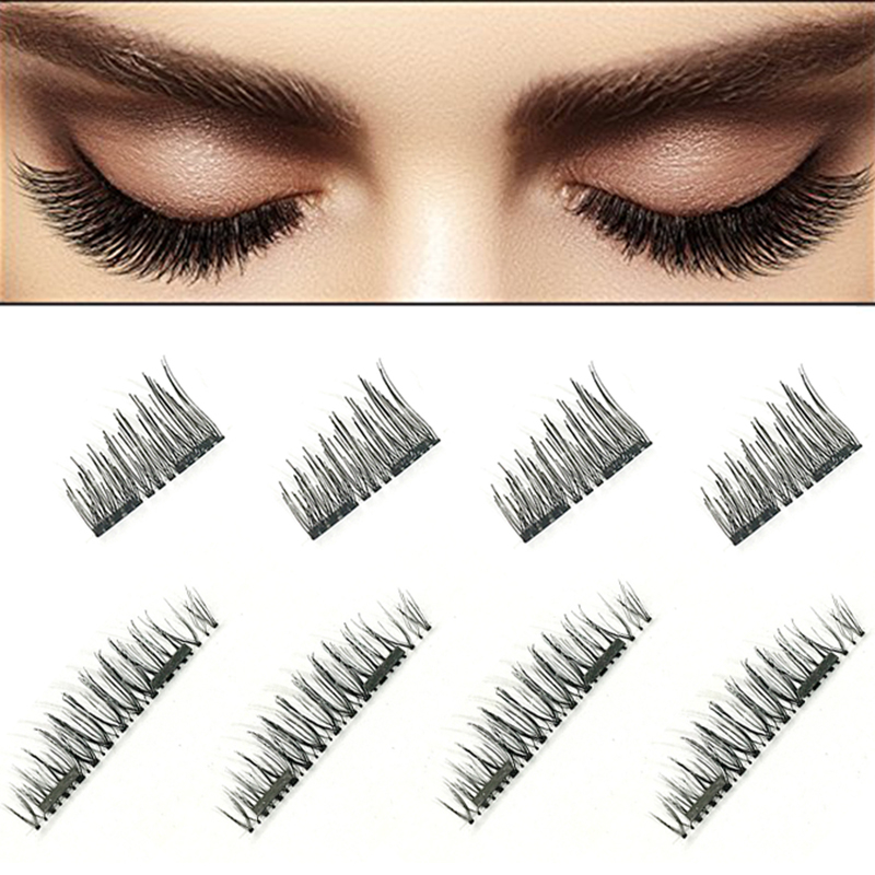 New 3D Natural False Eyelashes Soft Long Eyelash Fake Eye Lashes Extension Tools Makeup Beauty False Eyelashes Drop Shipping