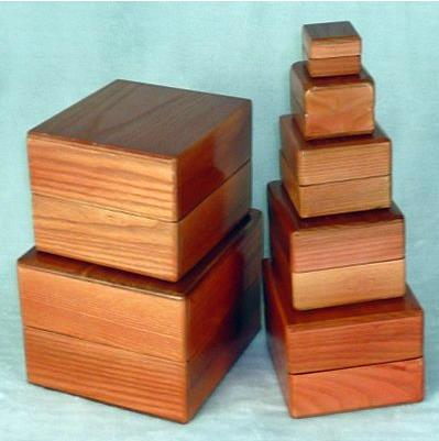 Nest of Boxes - Wooden,Magic Tricks,Stage Magic,Close Up,illusions,Comedy,Interactive nest of boxes wooden magic tricks close up stage appearing illusion gimmick prop funny mentalism wholesale