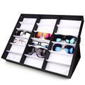 Wholesale 18 grid storage box display boxes of glasses sunglasses storage box factory direct low prices