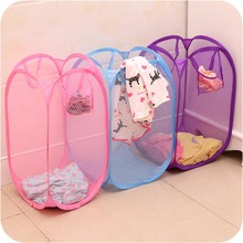 Big Laundry Basket With handle Foldable Dirty Clothes Organizer Storage Hamper Necessarie