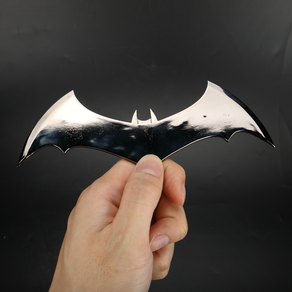 Shazam Batarangs Batman Dart Metal Batgirl Dart Superhero Weapon Cosplay Props (16)